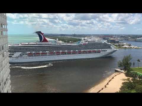 Cruise returns after Hurricane Irma, Port Everglades