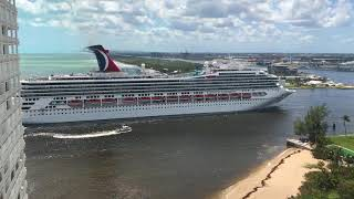 Cruise returns after Hurricane Irma, Port Everglades