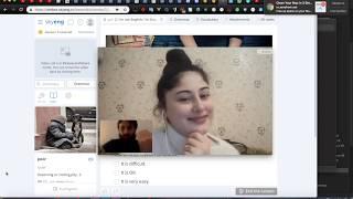 Online ENGLISH lesson. Второй урок английского в SkyEng [29.1.19] - Story about my Trip