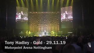 Tony Hadley - Gold - Let's Rock The Retro Winter Tour - Motorpoint Arena Nottingham - 29.11.19