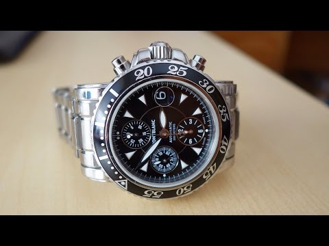 MontBlanc Sport 3273 Automatic Chronograph Review - Perth WAtch #35