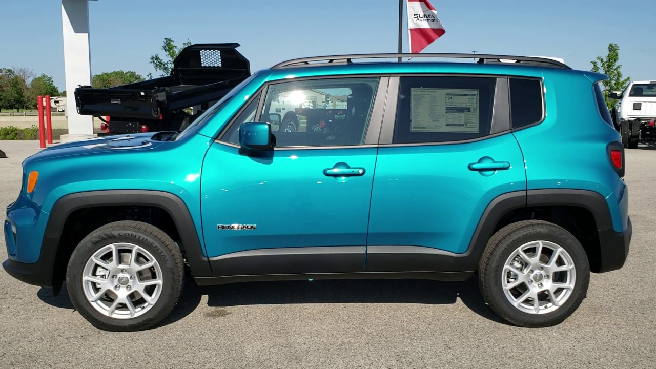 First Look At 2019 Jeep Bikini Blue Color Review Walk Around Renegade Wisconsin Www Summitauto Com