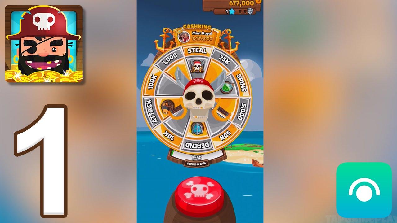 Pirate Kings – Gameplay Walkthrough Part 1 – Island 1: Tropical Coast (iOS, Android)