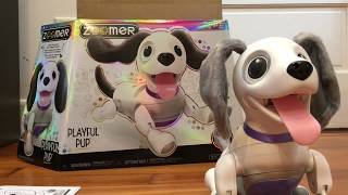New Zoomer Playful Pup by Spin Master UNBOXING