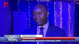 KAM LAUNCH OF MANUFACTURING IN KENYA SECTOR FOCUSED REPORT BUSINESS NEWS 19th OCTOBER 2018