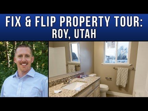Roy Flip Property Tour - Intelligroup - Utah Real Estate Investors