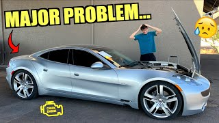 Our Cheap Fisker Karma Already Broke... Needs New BATTERY PACK?