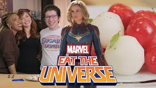 Captain Marvel Skrull-Inspired Salad | Eat the Universe
