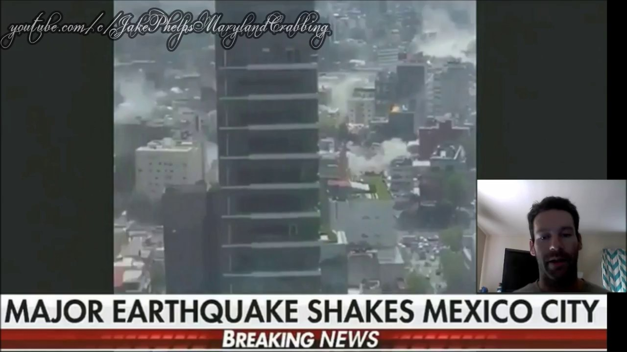 Videos of earthquake in mexico today