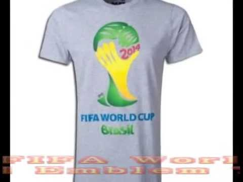 adidas 2014 FIFA World Cup Brazil Official Emblem T Shirt