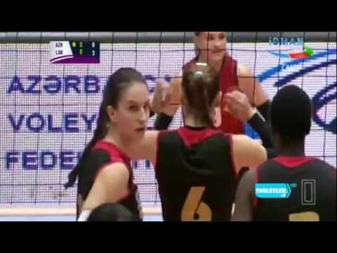 Azerrail Baku Vs Lokomotiv [08.11.2016] : Azerbaijan Women's Volleyball Super League