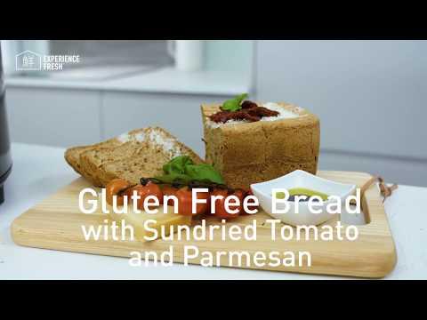 Gluten Free Sun-dried Tomato & Parmesan Bread | Panasonic ZB2522