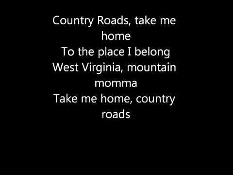 John Denver- Take Me Home Country Roads (Lyrics)