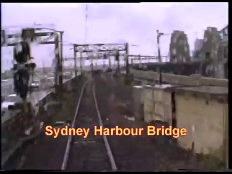 Sydney Suburban Railways-Last Days of the Red Sets-Driver's View Part 2-N. Shore, Bridge, & others