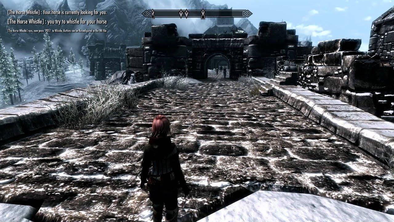 The Elder Scrolls 5: Skyrim - Call your Horse MOD