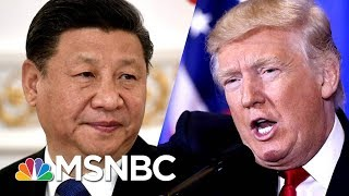 President Donald Trump Slaps China With Nearly $50 Billion In New Tariffs | MSNBC