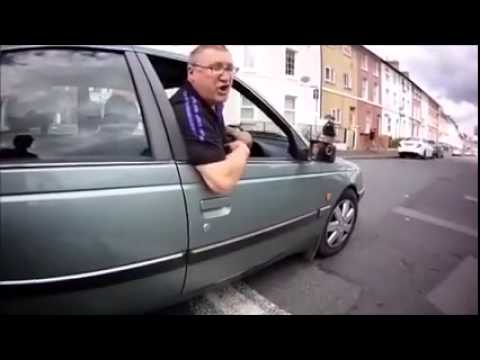 UK Road Rage vs Bicycle Rider , Karma Payback