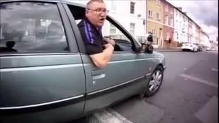 UK Road Rage vs Bicycle Rider , Karma Payback