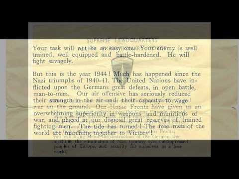 General Eisenhower D-Day Speech