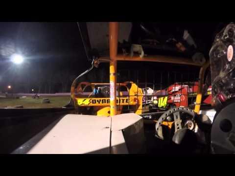 XCEL Modified Linda's Speedway Feature In Car Korey Inglin - 4-15-16