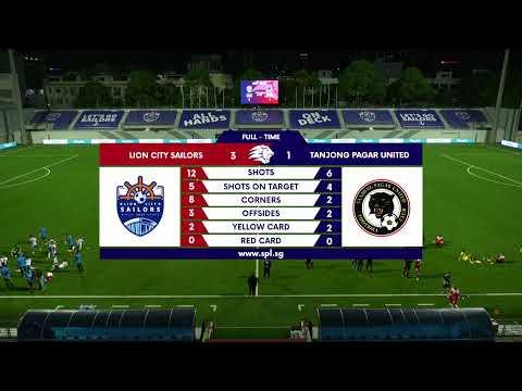 LIVE: Singapore Premiere League: Lion City Sailors vs Tanjong Pagar United