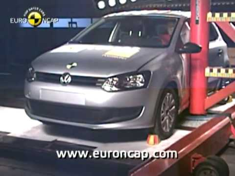 volkswagen polo 2009 crash test youtube. Black Bedroom Furniture Sets. Home Design Ideas
