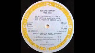 haydn, String Quartet In D Minor, Op  76, No  2 Quinten , Tokyo String Quartet