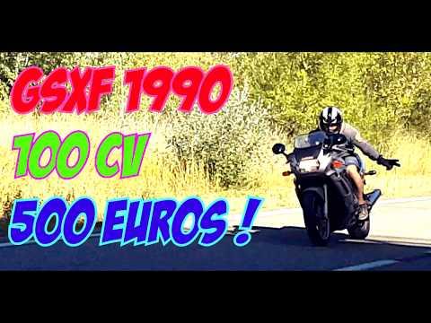 Suzuki GSX F 100 CV 500€ !!