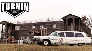 Who Ya Gonna Call Teaser | 1963 Cadillac Hearse | Turnin Rust