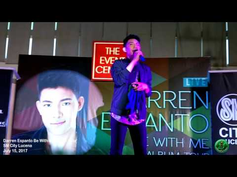 Darren Espanto Be With Me Album Tour at SM City Lucena 07/15/2017
