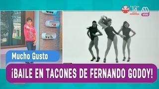 Baile en tacones de Fernando Godoy - Mucho Gusto 2016
