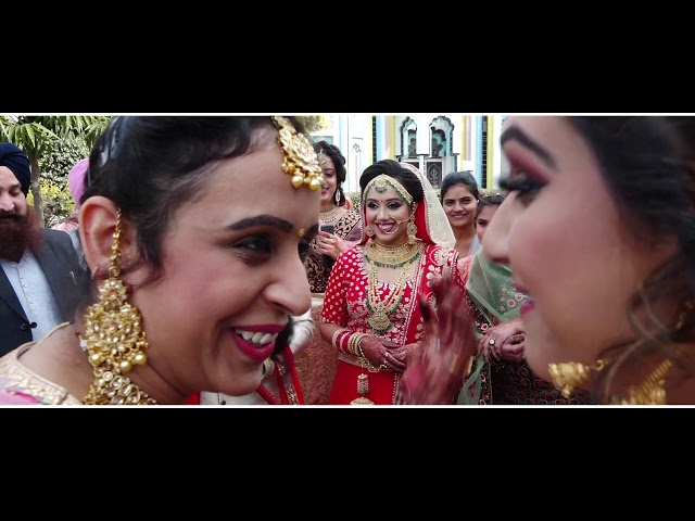 JASLEEN  & GAGANDEEP / WEDDING LOVE STORY