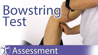 The Bowstring Test | Sciatic Nerve Tension