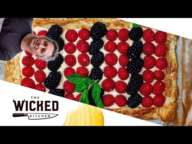 Vegan Berry Tart | The Wicked Kitchen