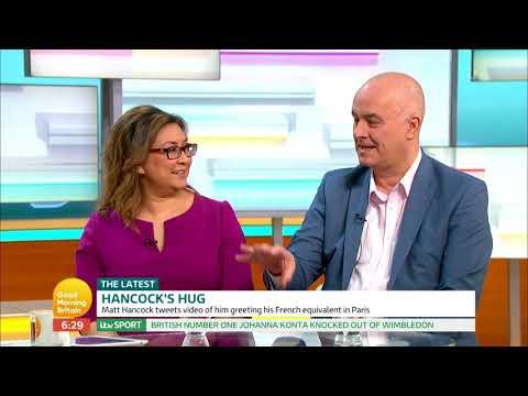 Matt Hancock's Hug | Good Morning Britain