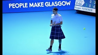 Andy Murray vs Roger Federer - Glasgow 2017 (Highlights/Best moments) HQ