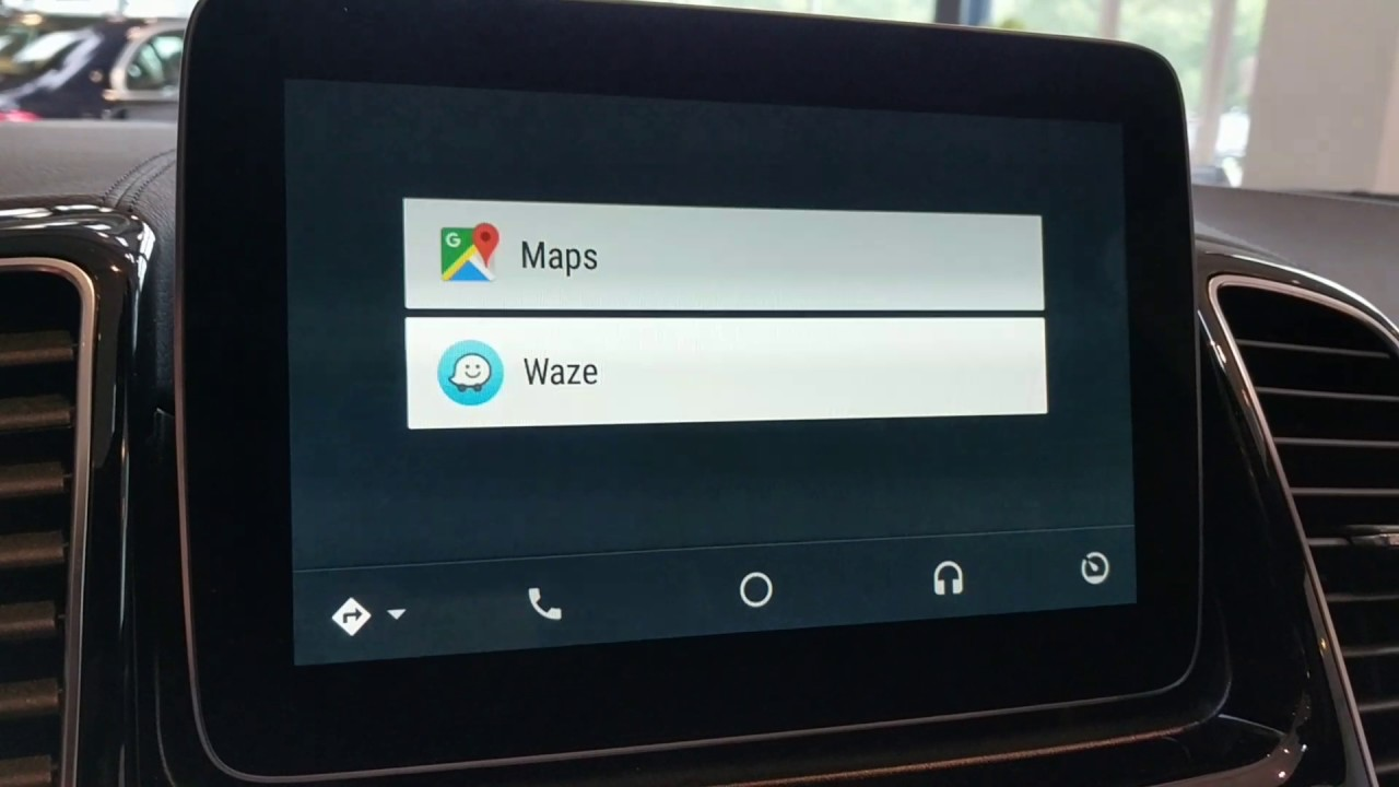 waze android auto switch mercedes youtube. Black Bedroom Furniture Sets. Home Design Ideas