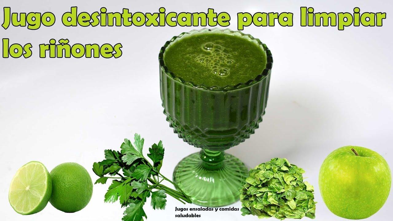 Dieta de jugo verde para desintoxicar