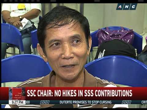SSS studying 6 options in implementing P2,000 pension hike