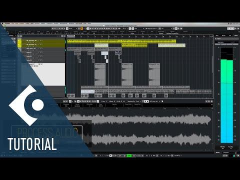 6 Basic Audio Processes in Cubase you Need to Know | Music Production for Beginners 3