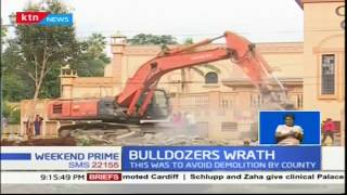 Oshwal Centre carries out its own demolition