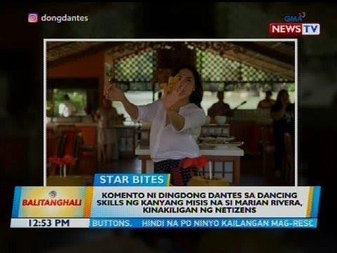 BT: Komento ni Dingdong Dantes sa dancing skills ng kanyang misis na si Marian Rivera... - 동영상