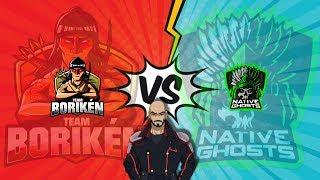 Clash Royale! Native Ghosts vs Team Boriken partido de la Super League!