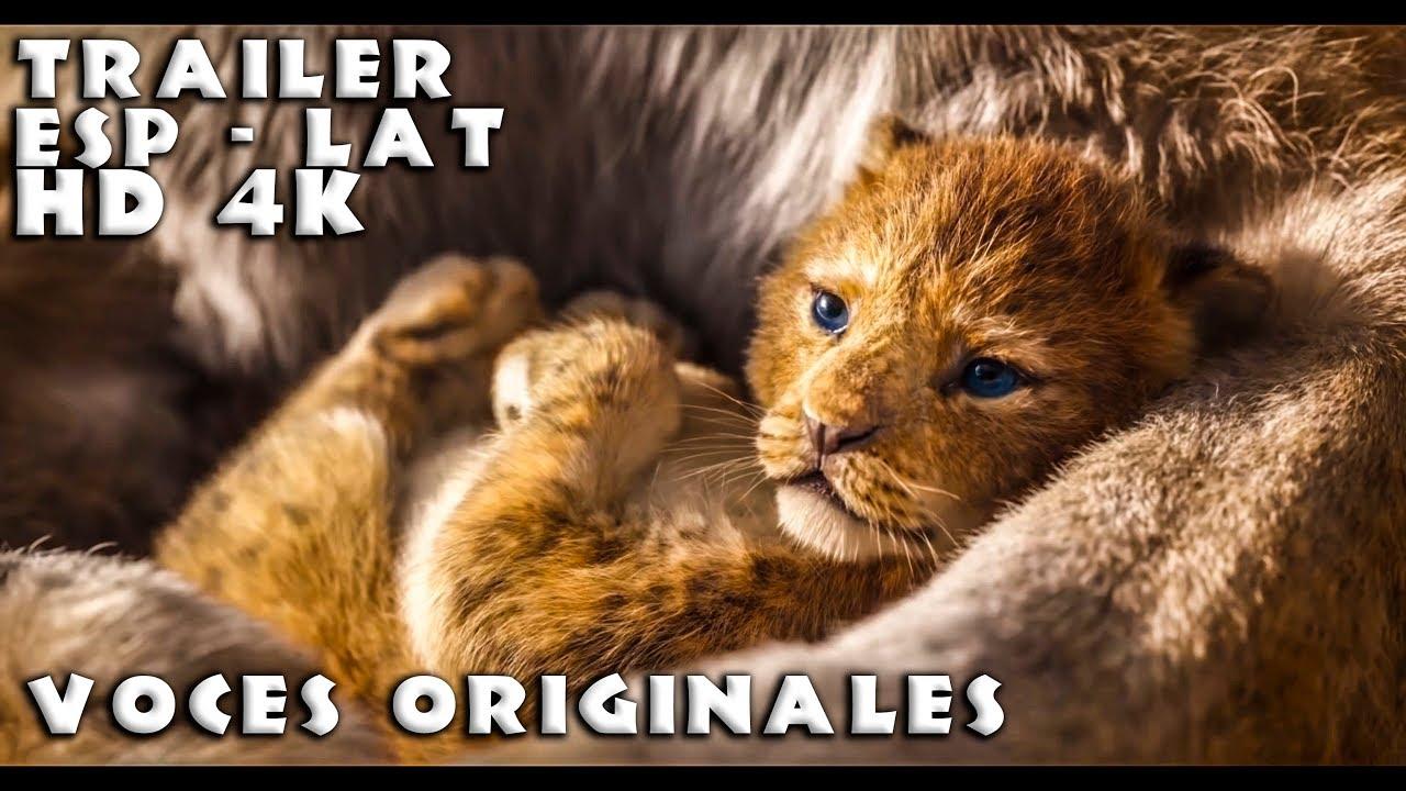 Download El Rey León - Teaser Trailer Oficial - Full HD 4K - Doblaje Español Latino - (Voces Originales 1994)