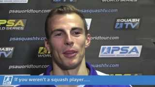Squash : Two Minutes with Nick Matthew