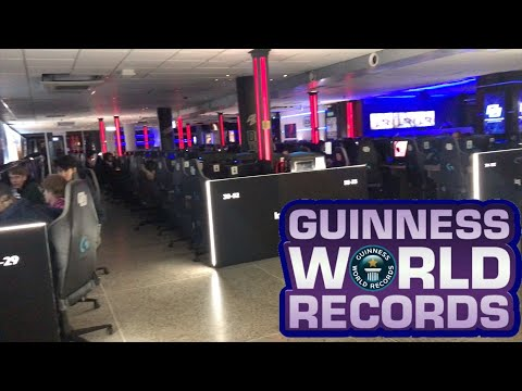 WORLD'S LARGEST GAMING CENTER (+300 PCs) Stockholm, Sweden Inferno Online!