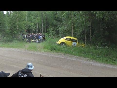 Orimattila Ralli 2015 (crash & action)