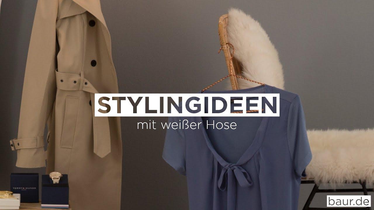 Weiße Hose Stylen
