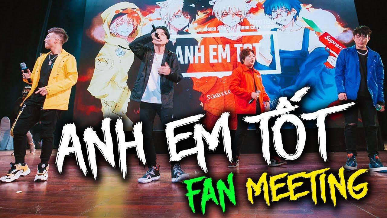 ANH EM TỐT REMIX | LIVE | Fan meeting Hero Team [Official Video] MyTub.uz