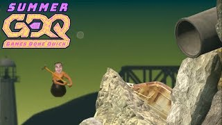 Getting Over It With Bennett Foddy By Montyvstheworld In 2:43 - Sgdq2018